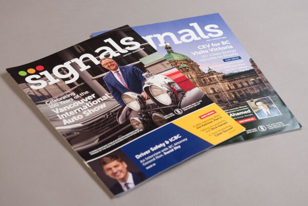 NCDA Signals Magazine Covers by HCD