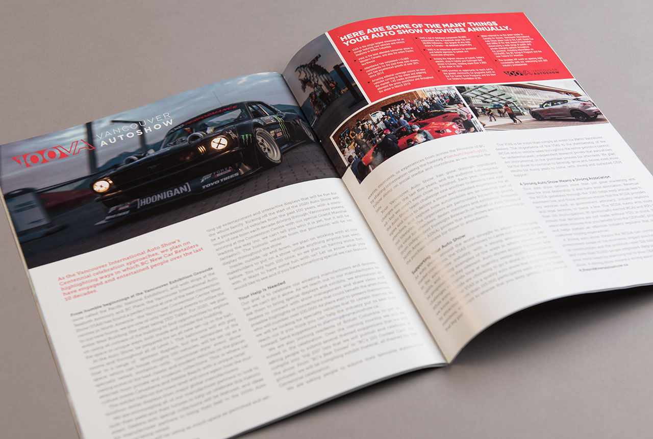 NCDA Signals Magazine Spread by HCD