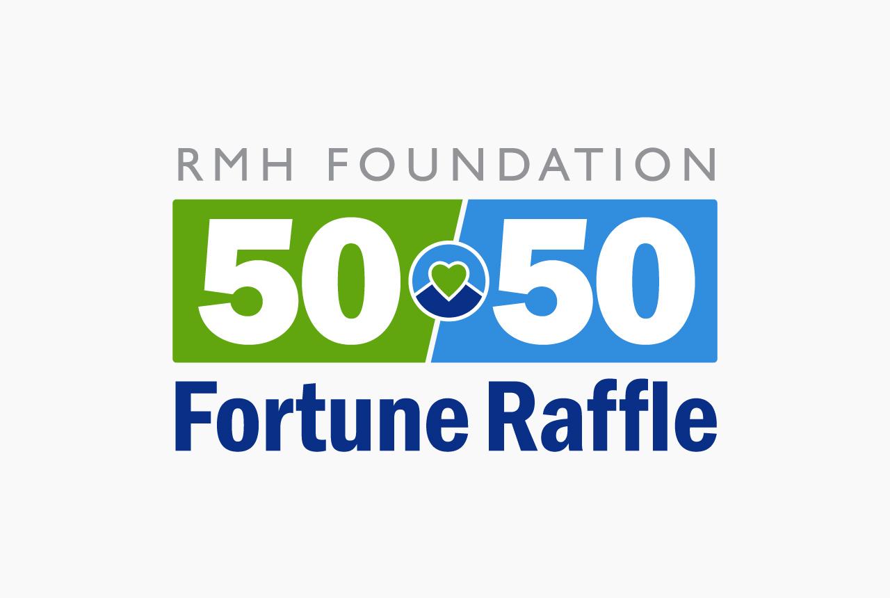 RMH Foundation 50-50 Raffle Logo by HCD