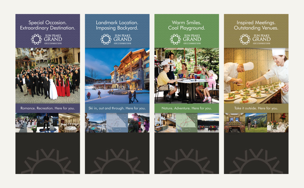 Sun Peaks Grand Hotel Banners by HCD