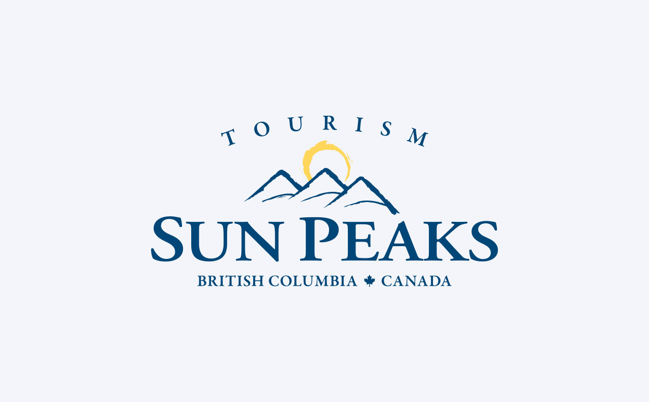 Tourism Sun Peaks Logo Revision by HCD