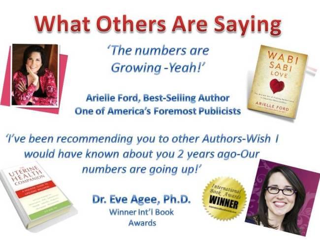 author testimonials