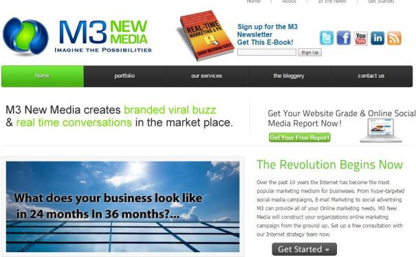 m3-new-media-website