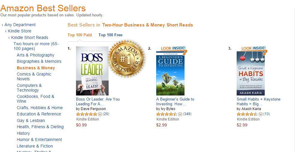 Best Seller Program