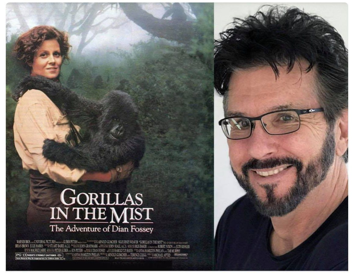 Dian Fossey's life story was transformed by Tab Murphy into the classic movie