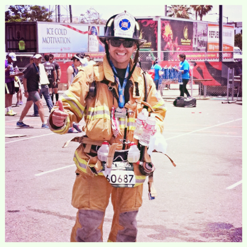 "Running to Remember the Granite Mtn. Hotshots with ""Fireman Joe"" Zambrano"