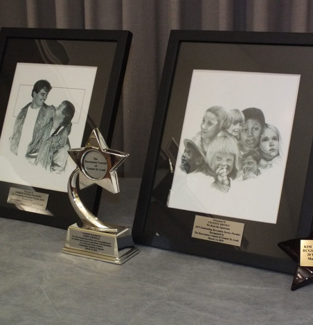 Awards presented at the recent awards ceremony.