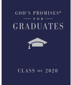 God's Promises for Graduates Book - can add imprint on cover