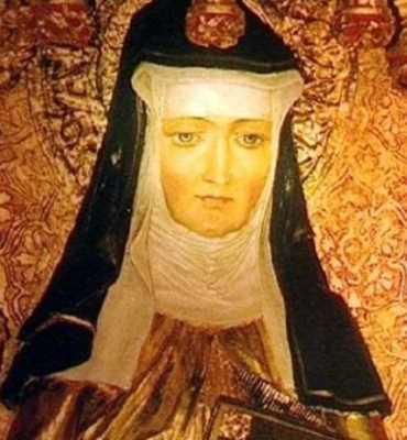 Description: Hildegard of Bingen. Date: Mediaeval; Source: Lettera43.it