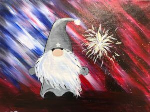 4th of July Gnome @ Tipsy Brush