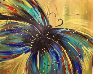 Butterfly @ Tipsy Brush