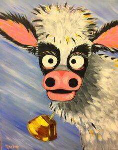 Crazy Cow @ Tipsy Brush