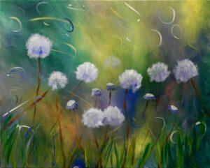 Dandelion Frenzy @ Tipsy Brush
