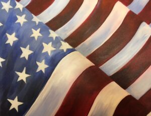 Grand Ol Flag at Mountain Meadows Resort, Proctor @ Mountain Meadows Resort