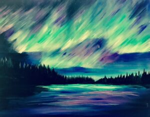 Northern Lights @ Tipsy Brush
