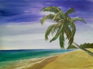 Palm Paradise @ Tipsy Brush