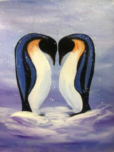 Penguin Pair @ Tipsy Brush