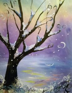 Snow Whimsy @ Tipsy Brush