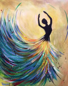 Spring Dancer @ Tipsy Brush