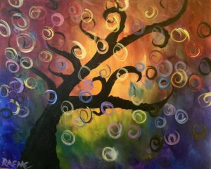 Family Night Swirly Tree! @ Tipsy Brush