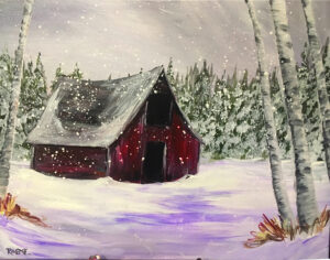 Winter Barn @ Tipsy Brush