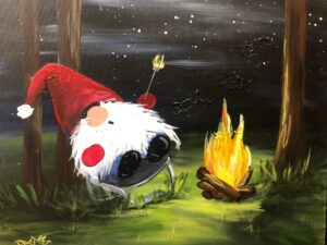 Camping Gnome Painting in Plains MT! @ VFW post 3596