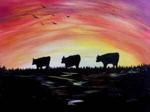 Cows Coming Home @ Tipsy Brush
