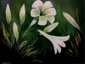 Easter Lilies @ Tipsy Brush