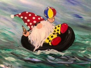 Floating Gnome @ Tipsy Brush