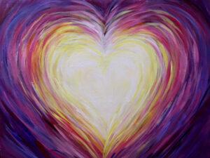 """Family Night! """"Heart""""! @ Tipsy Brush"""