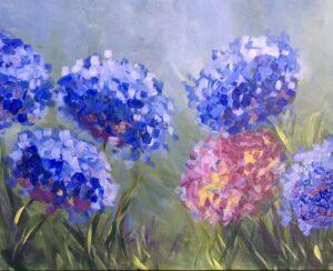 Hydrangeas @ Tipsy Brush