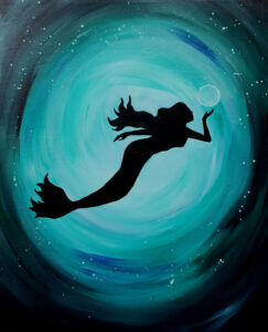 Mermaid @ Tipsy Brush