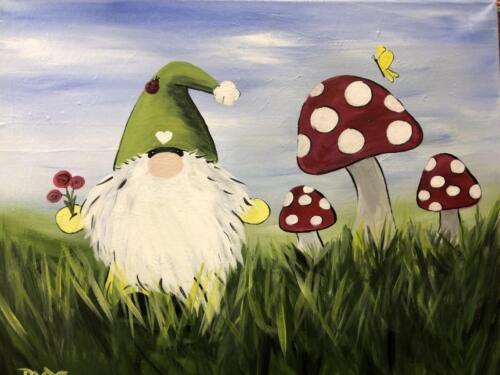 Springtime Gnome