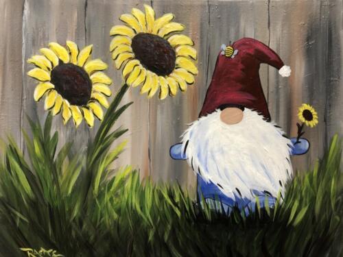 Sunflower Gnome