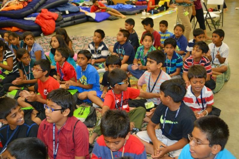 Shree Swaminarayan Nar Narayan Dev (NNDYM) Camp 2014 Byron Georgia (159)