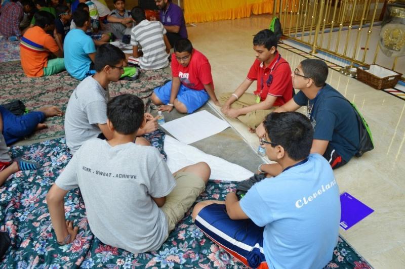 Shree Swaminarayan Nar Narayan Dev (NNDYM) Camp 2014 Byron Georgia (213)
