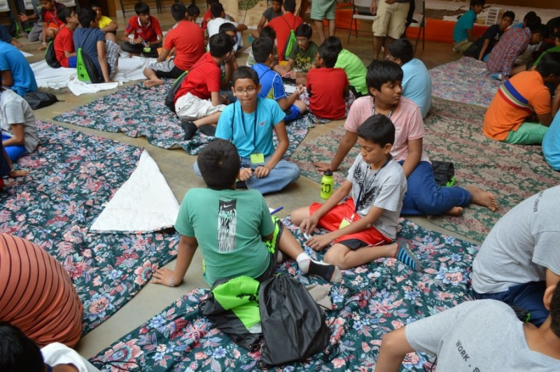 Shree Swaminarayan Nar Narayan Dev (NNDYM) Camp 2014 Byron Georgia (214)