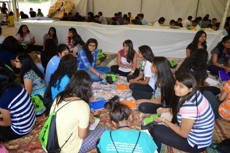 Shree Swaminarayan Nar Narayan Dev (NNDYM) Camp 2014 Byron Georgia (233)
