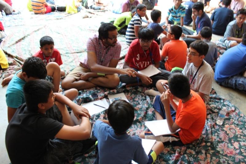 Shree Swaminarayan Nar Narayan Dev (NNDYM) Camp 2014 Byron Georgia (368)