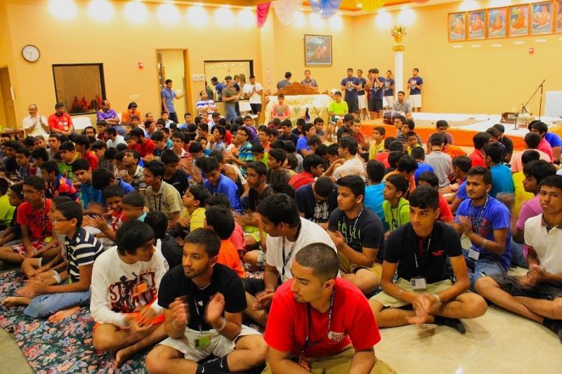 Shree Swaminarayan Nar Narayan Dev (NNDYM) Camp 2014 Byron Georgia (393)