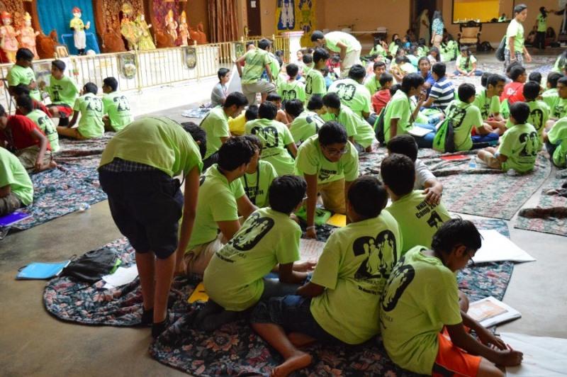 Shree Swaminarayan Nar Narayan Dev (NNDYM) Camp 2014 Byron Georgia (48)