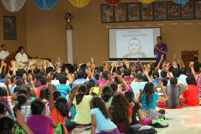 Shree Swaminarayan Nar Narayan Dev (NNDYM) Camp 2014 Byron Georgia (495)