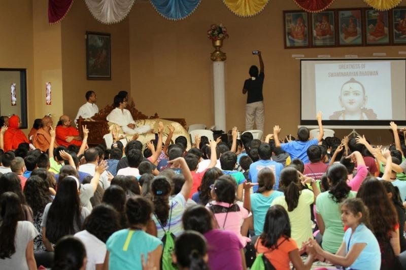 Shree Swaminarayan Nar Narayan Dev (NNDYM) Camp 2014 Byron Georgia (498)