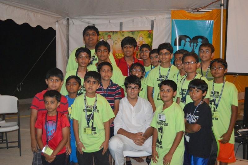 Shree Swaminarayan Nar Narayan Dev (NNDYM) Camp 2014 Byron Georgia (68)
