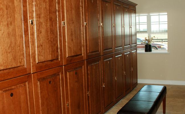 Locker Room at Autumn Road Farm