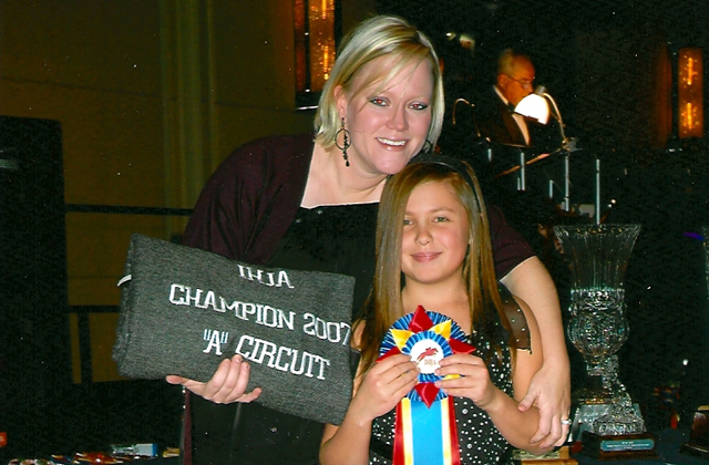 Ally Sledz with Sara Rhodes