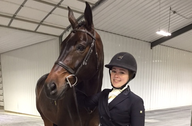 Emily Yslas at the World Equestrian Center   April 2017