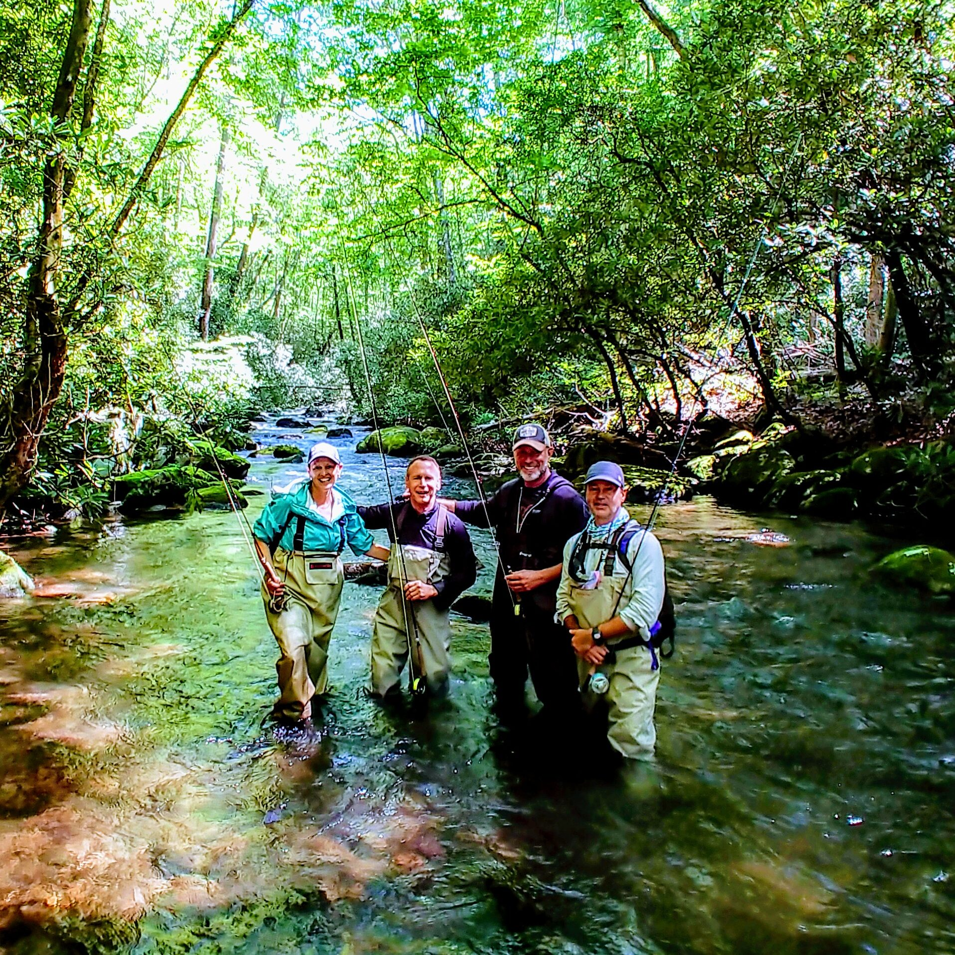 Group Fly Fishing