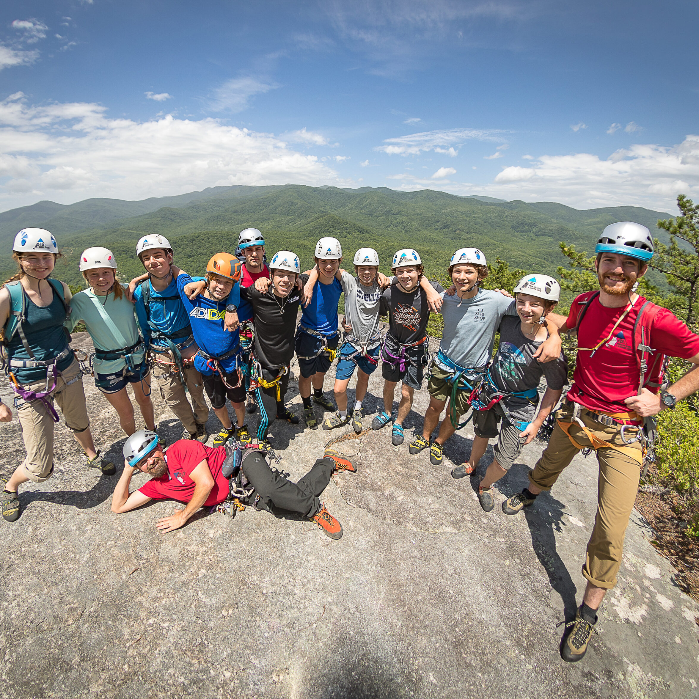 Group Rock Climb