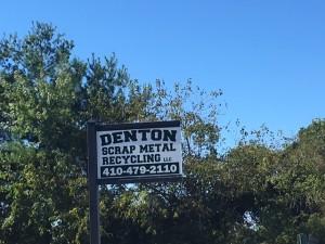 Denton Scrap, Denton MD Scrap buyer